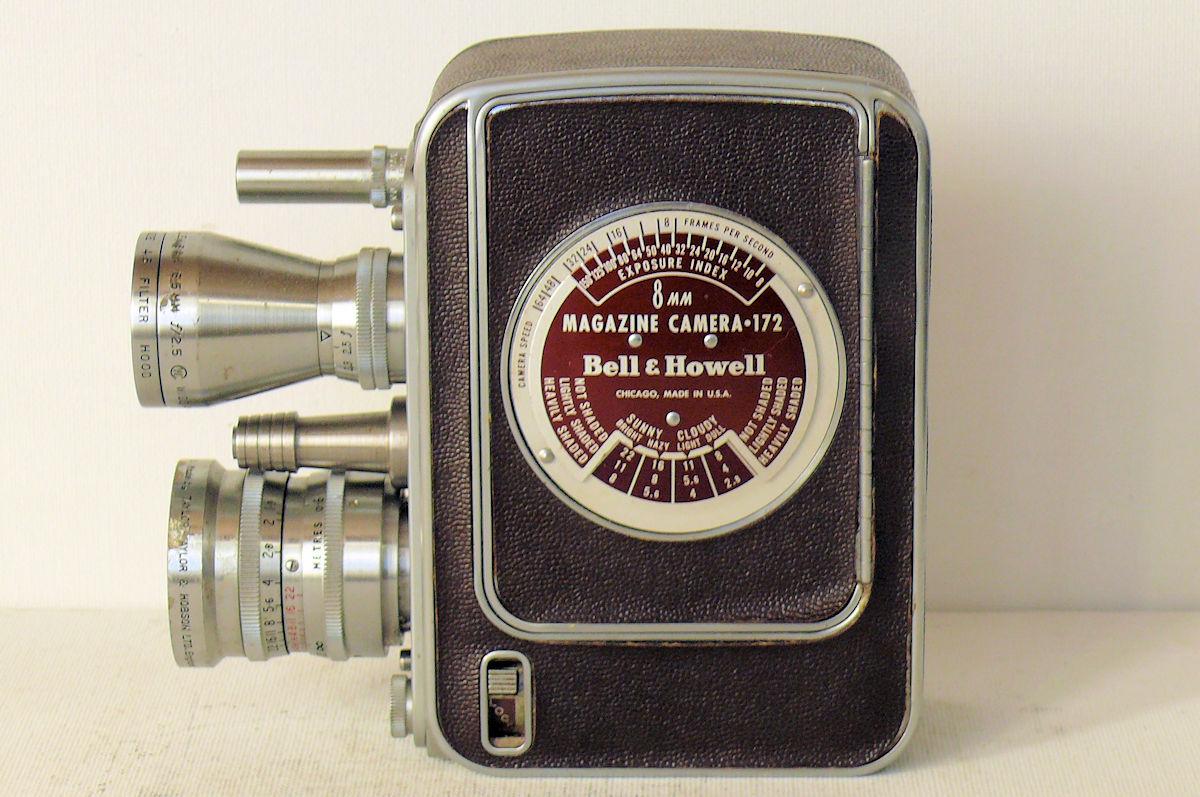 BELL & HOWELL Filmo Auto-8 172