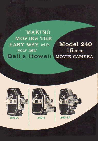 BELL & HOWELL 240 - User Manual