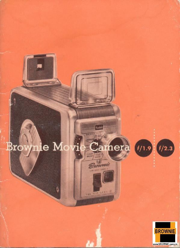 Brownie Movie camera improved