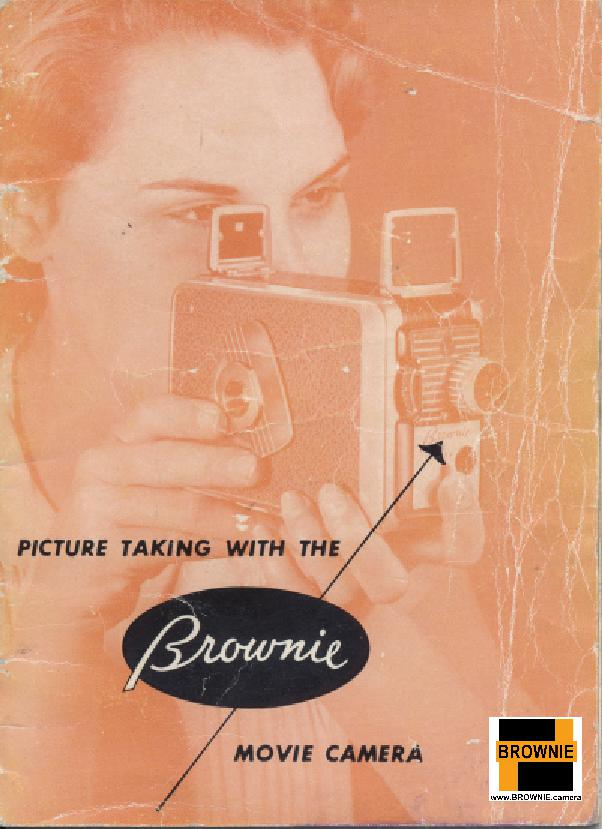 kodak brownie movie camera User manual