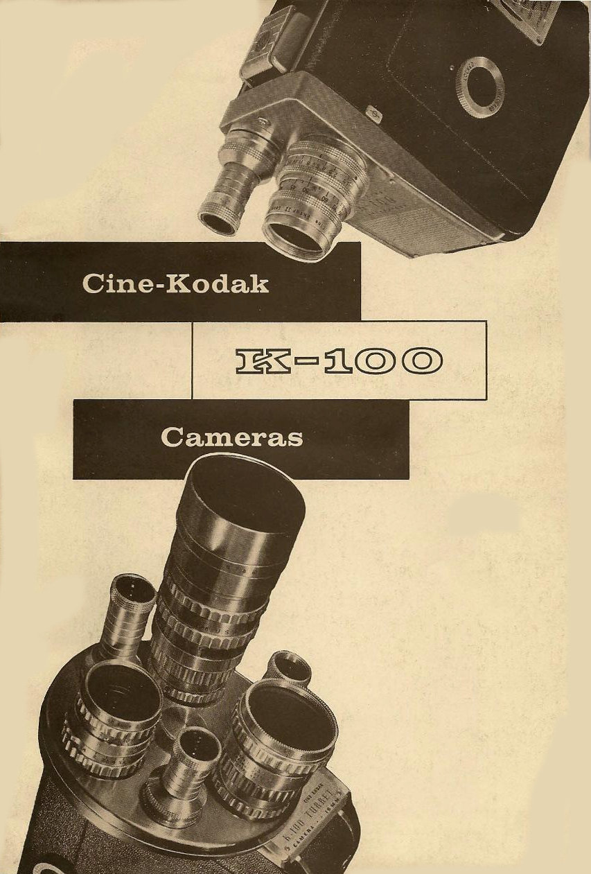 Cine Kodak K-100  User manual en