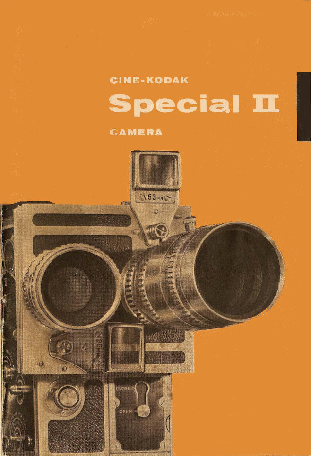 Cine Kodak Special II User manual en