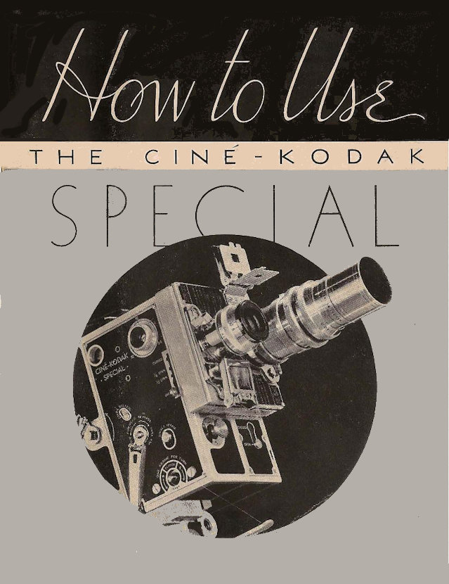 Cine Kodak Special - User manual en