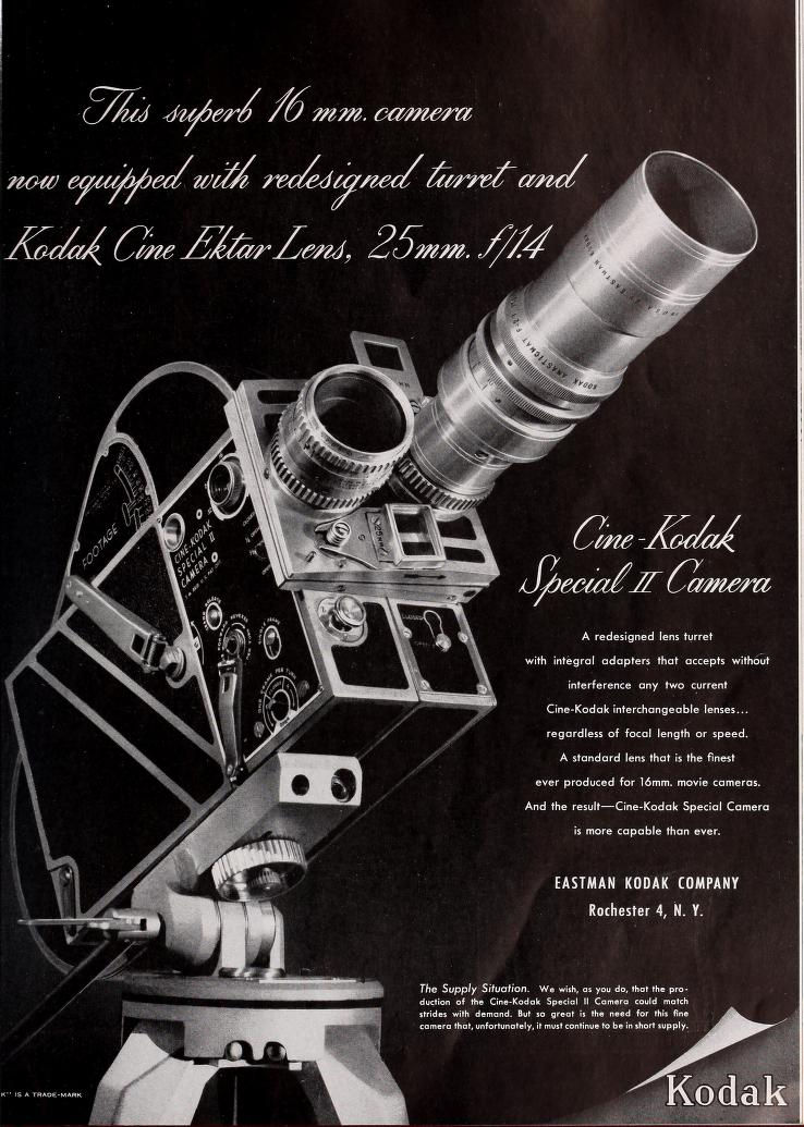 "Ciné Kodak ""Special"" - Movie Maker Aout 1948"