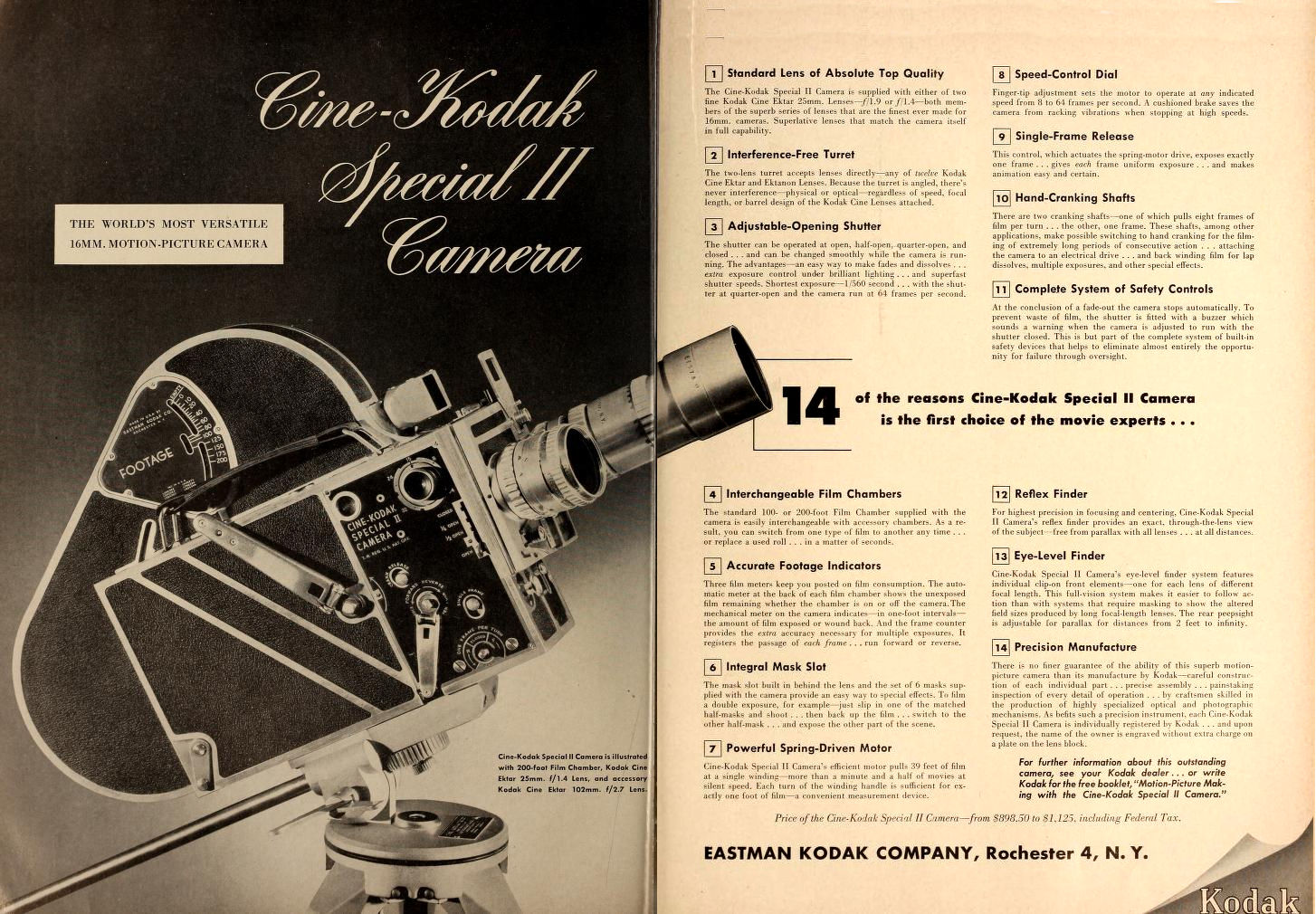 "Ciné Kodak ""Special"" - Movie Maker Nov 1949"