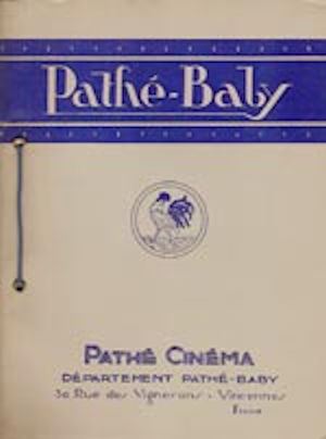 Pathé Baby Motrix Moteur CAMO - Catalogue 1925