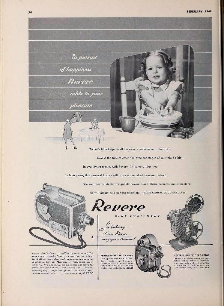 Movie Makers 1948 02 First Ad 16