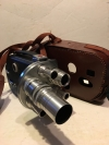 Cine Kodak K-100 Turret 16mm movie camera 6 lens leather case