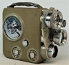 Vintage Eumig C3 R 8mm Turret Cine Camera, Good Working Order, Macro Lenses