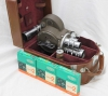 BELL & HOWELL Filmo 70-DL 16mm Movie Camera w/Original Case, Film, Zoom Lens