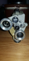 Vintage Eumig c3 8mm movie camera with leather case with instructions