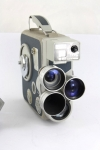 EUMIG C3 M turret camera with instructions and pistol grip