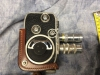 Vintage PAILLARD BOLEX B8 Movie Camera With Carry Pouch and extra lense
