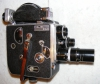 Paillard Bolex H16, vintage 16mm Cine Camera with 3 Dallmeyer lenses in case