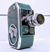 Vintage Bauer German clockwork film camera with Schneider Kreuznach lens