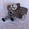 Vtg Bell & Howell 16mm Movie Camera W/ 3 lenses Works great Nice