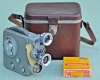Vintage Eumig C3 8mm Cine Movie Camera with Case & Film