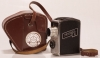 Pentaka 8 Cine Camera with Jena B 1:2 f=12.5 Lens and leather case and strap