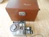 VINTAGE REVERE EIGHT MODEL 60 TURRET 8 MM MOVIE CAMERA WITH CASE - 1947
