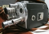 VINTAGE CINE-KODAK K-100 TURRET CAMERA, Instruction Book, Case, REALLY NICE!