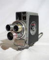 Vintage DeJUR Electra Custom Automatic 8mm Movie Cinema Camera Triple Lens