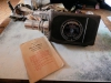 BELL HOWELL CAMERA FILMO AUTO MASTER RARE 16MM AVEC NOTICE FONCTIONNE