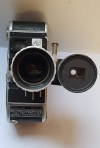 Camera Vintage PAILLARD BOLEX E 8 Cine Movie NOMINAR ZOOM LENS
