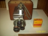 VINTAGE DEJUR ELECTRA MOVIE CAMERA W/CASE
