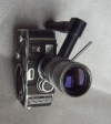CAMERA 8 mm BOLEX PAILLARD B8 & ZOOM ANGENIEUX 9- 36 mm 1: 1.8