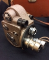 Working Revere Eight Model 99 8mm Cine Camera 3-Lens Turret & Hard Case VGC