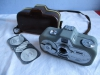 Vintage 8mm Cine Movie Camera & Case - Zeiss Ikon Movinette 8B