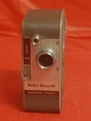 VINTAGE Bell & Howell Magazine 172 wind-up 8mm movie camera
