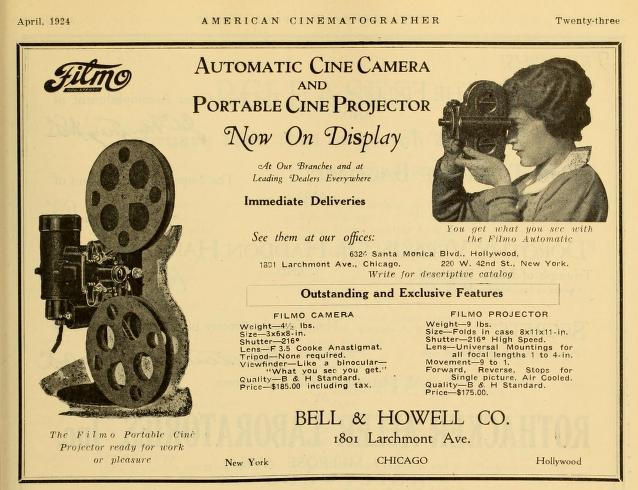 American Cinematographer 1924 04 Ad