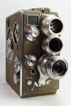 Nizo Heliomatic 8 with Nizo 53 conversion lens system from 1951