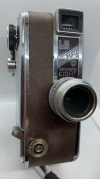 "Vintage ""Dejur""Embassy Magazine 8MM Movie camera Winds up and does run!"
