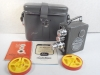 VINTAGE *NIZO HELIOMATIC* 8mm MODEL S-2-R MOVIE CAMERA w/CASE & MANUAL