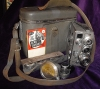 1950s German Nizo Heliomatic S2R 2 X 8mm Movie Camera + Case + Accessories